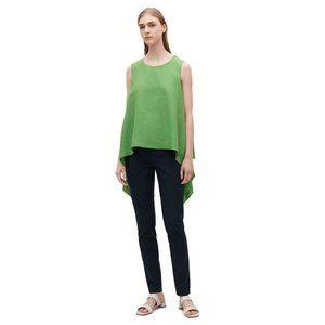 NEW COS Green Layered Drape Sleeveless Top #S15